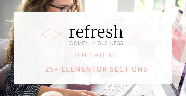 template kit header