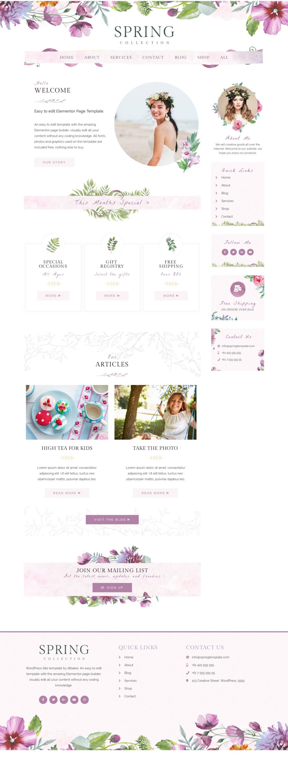 Page - Home Page 4