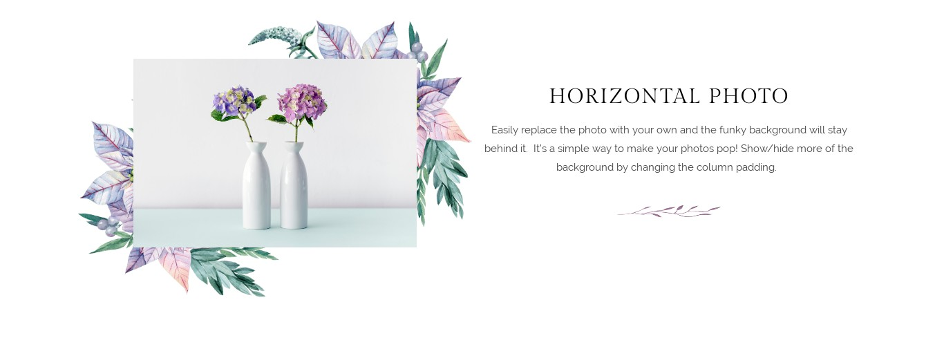 Block - Horizontal Photo 2