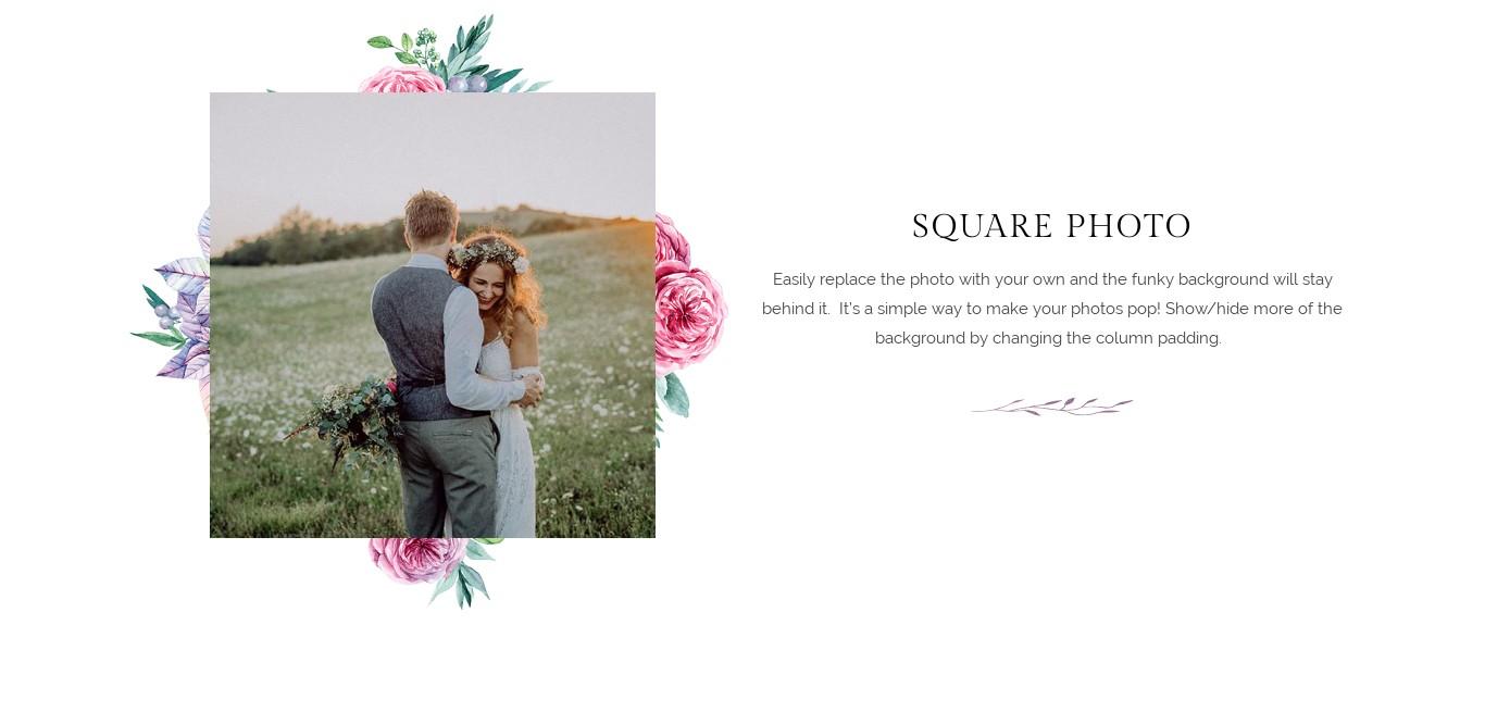 Block - Square Photo