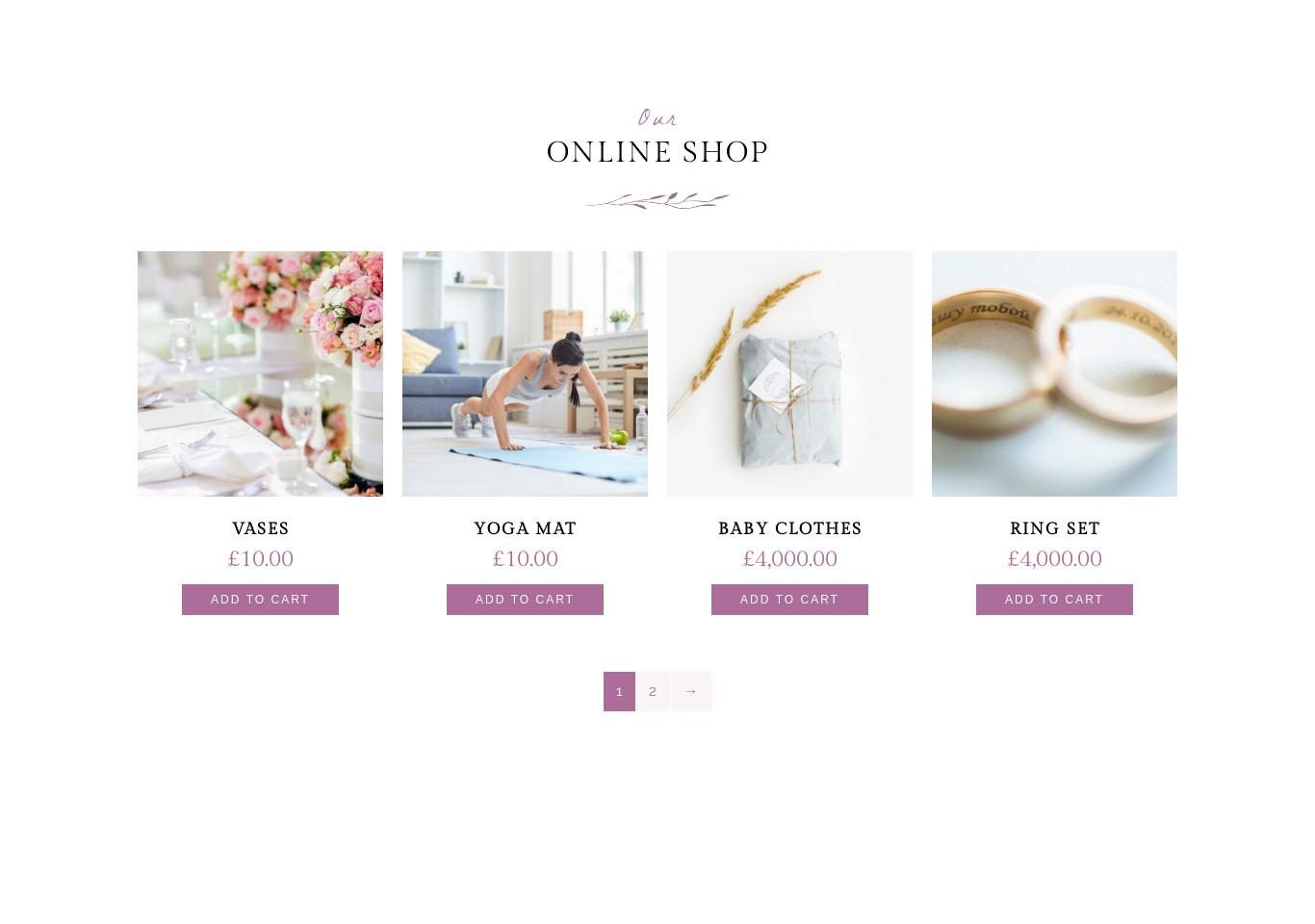 Shop Product Block - Pro