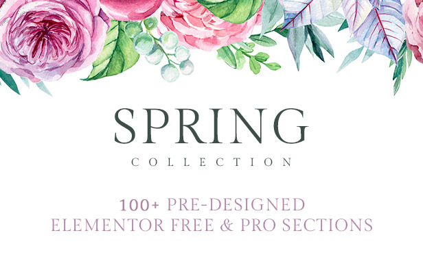 spring template kit header